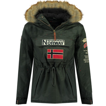 textil Dreng Parkaer Geographical Norway BARMAN BOY Grå