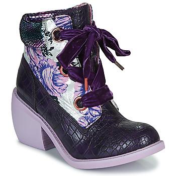 Sko Dame Støvler Irregular Choice SCARPER Violet