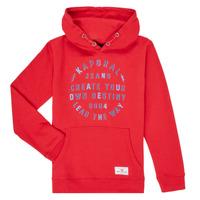 textil Dreng Sweatshirts Kaporal OCTAV Rød