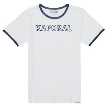 textil Dreng T-shirts m. korte ærmer Kaporal ONYX Hvid