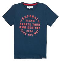 textil Dreng T-shirts m. korte ærmer Kaporal ORVAL Marineblå