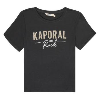 textil Pige T-shirts m. korte ærmer Kaporal MAPIK Sort