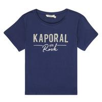 textil Pige T-shirts m. korte ærmer Kaporal MAPIK Marineblå
