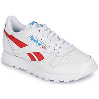 Sko Lave sneakers Reebok Classic CL LTHR Hvid / Rød