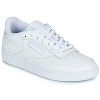 Sko Dame Lave sneakers Reebok Classic CLUB C 85 Hvid / Iriserende