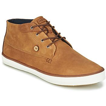 Sko Herre Høje sneakers Faguo WATTLE Brun