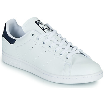 Sko Lave sneakers adidas Originals STAN SMITH VEGAN Hvid / Blå