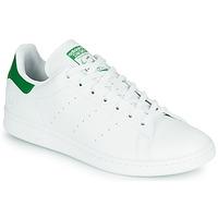 Sko Lave sneakers adidas Originals STAN SMITH VEGAN Hvid / Grøn