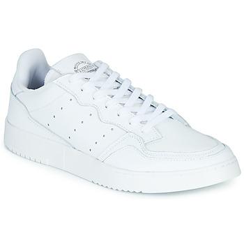 Sko Lave sneakers adidas Originals SUPERCOURT Hvid