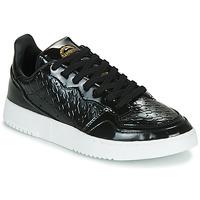 Sko Dame Lave sneakers adidas Originals SUPERCOURT W Sort / Lakeret