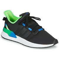 Sko Herre Lave sneakers adidas Originals U_PATH RUN Sort / Grøn