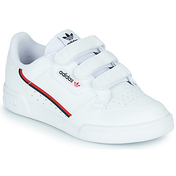 Sko Børn Lave sneakers adidas Originals CONTINENTAL 80 CF C Hvid