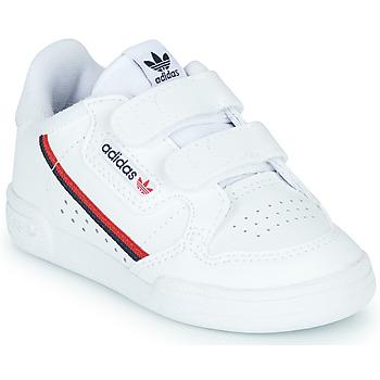 Sko Børn Lave sneakers adidas Originals CONTINENTAL 80 CF I Hvid