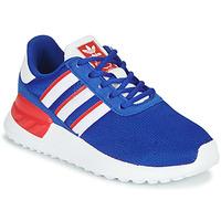Sko Dreng Lave sneakers adidas Originals LA TRAINER LITE C Blå