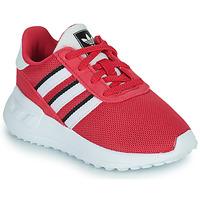 Sko Pige Lave sneakers adidas Originals LA TRAINER LITE EL Pink
