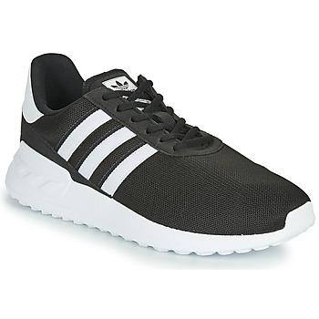 Sko Børn Lave sneakers adidas Originals LA TRAINER LITE J Sort / Hvid