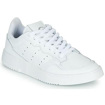 Sko Børn Lave sneakers adidas Originals SUPERCOURT J Hvid