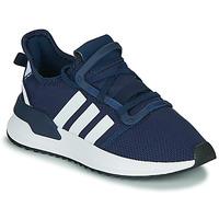 Sko Dreng Lave sneakers adidas Originals U_PATH RUN J Marineblå / Hvid