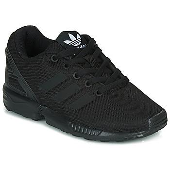 Sko Børn Lave sneakers adidas Originals ZX FLUX C Sort