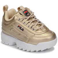 Sko Pige Lave sneakers Fila DISRUPTOR F INFANTS Guld