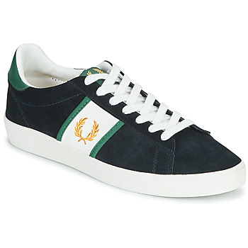 Sko Herre Lave sneakers Fred Perry SPENCER SUEDE / TIPPING Blå
