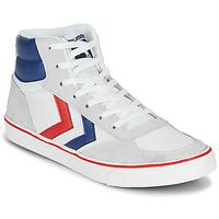 Sko Høje sneakers Hummel STADIL HIGH OGC 3.0 Hvid / Blå / Rød