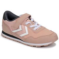 Sko Pige Lave sneakers Hummel REFLEX JR Pink