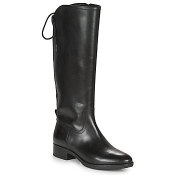 Sko Dame Chikke støvler Geox FELICITY Sort