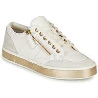 Sko Dame Lave sneakers Geox LEELU Hvid