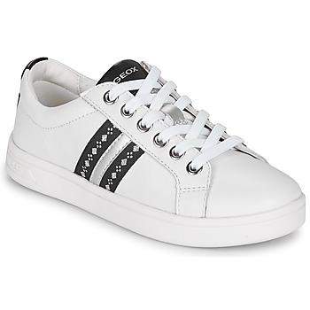 Sko Pige Lave sneakers Geox DJROCK Hvid