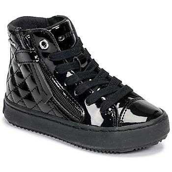 Sko Pige Høje sneakers Geox KALISPERA Sort
