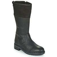 Sko Dame Chikke støvler Kickers WATHIGH Sort