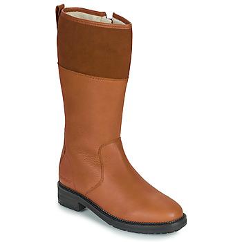 Sko Dame Chikke støvler Kickers WATHIGH Kamel
