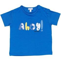 textil Dreng T-shirts m. korte ærmer Nanan E20174 Avio