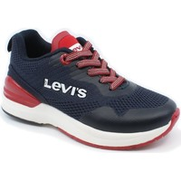 Sko Dreng Lave sneakers Levi's VFUS0001T-0290  06-0326 navy red