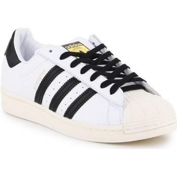 Sko Herre Lave sneakers adidas Originals Superstar Laceless Hvid,Sort