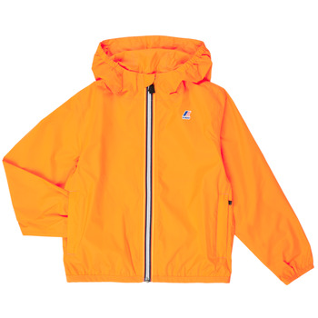 textil Børn Vindjakker K-Way LE VRAI 3.0 CLAUDE KIDS Orange