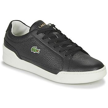 Sko Dame Lave sneakers Lacoste CHALLENGE 0120 1 SFA Sort / Hvid