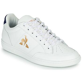 Sko Dame Lave sneakers Le Coq Sportif COURT CLAY W Hvid / Blå