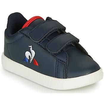 Sko Børn Lave sneakers Le Coq Sportif COURTSET INF Marineblå