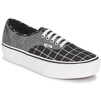 Sko Dame Lave sneakers Vans AUTHENTIC PLATFORM 2.0 Grå
