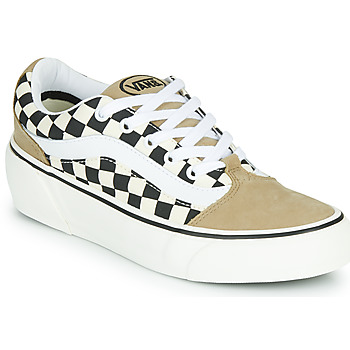Sko Dame Lave sneakers Vans SHAPE NI Beige / Hvid