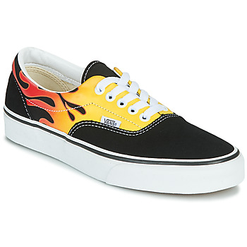 Sko Lave sneakers Vans ERA Sort / Flamme