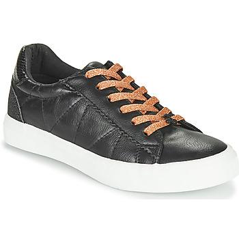 Sko Dame Lave sneakers Le Temps des Cerises VIC Sort