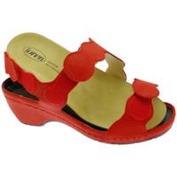 Sko Dame Sandaler Calzaturificio Loren LOE687ro rosso