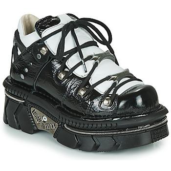 Sko Dame Lave sneakers New Rock  Sort / Hvid