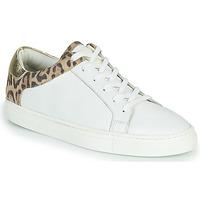 Sko Dame Lave sneakers Les Tropéziennes par M Belarbi LOUANE Hvid / Leopard