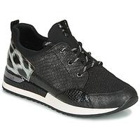 Sko Dame Lave sneakers Remonte Dorndorf R2503-45 Sort / Leopard