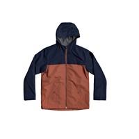 textil Dreng Jakker Quiksilver WAITING PERIOD Marineblå / Brun