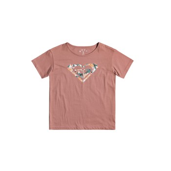 textil Pige T-shirts m. korte ærmer Roxy DAY AND NIGHT Pink